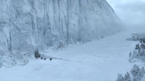image du mur de glace...