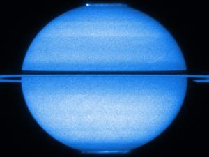 Saturne vue par Hubble