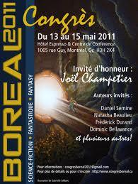 affiche du congrès boréal 2011