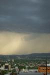 pluie sur québec